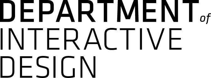 Logo von Department of Interactive Design by Ronny Schmid.